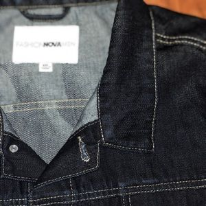 Fashion Nova Denim Trucker Jacket